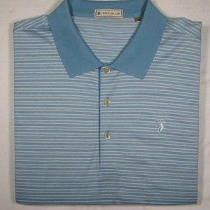 PETER MILLAR ~ 100% Cotton Polo Golf Shirt ~